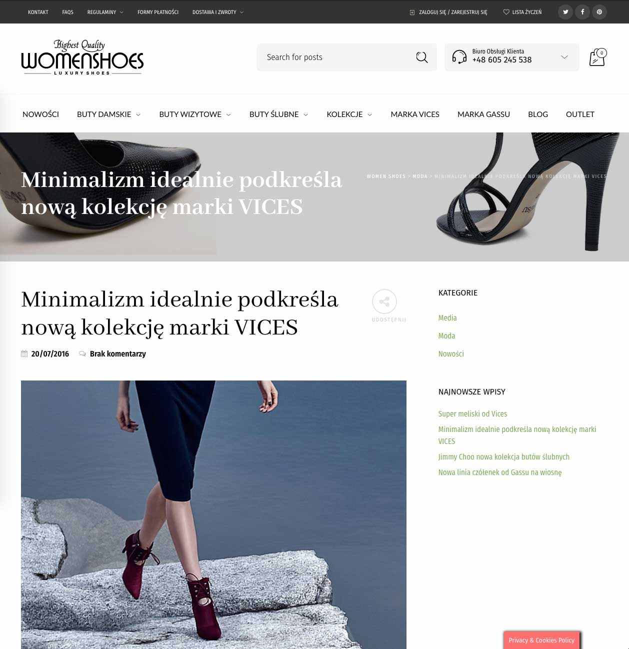 Realizacja WomenShoes 1