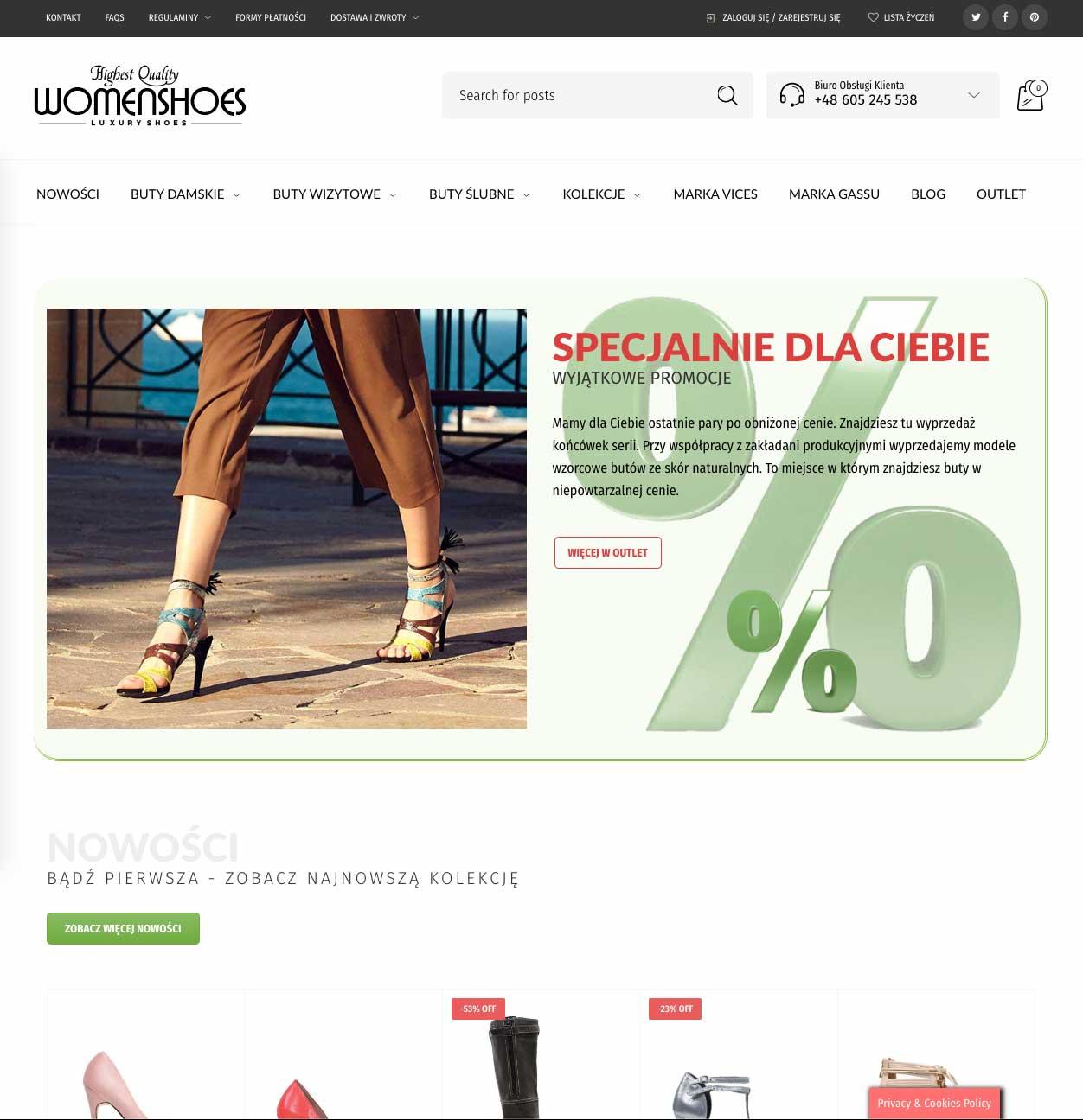 Realizacja WomenShoes 10