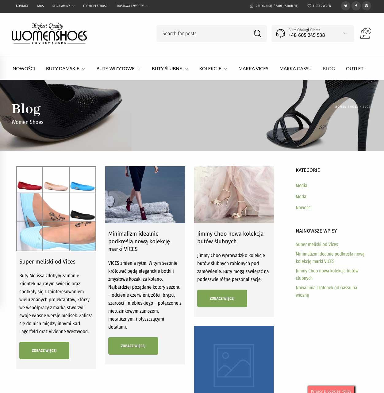 Realizacja WomenShoes 3