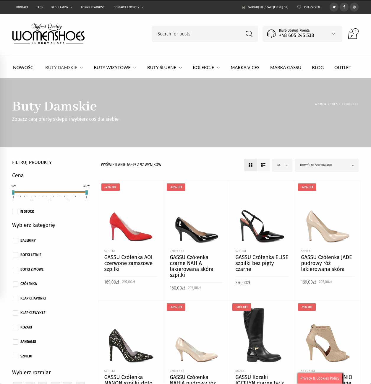 Realizacja WomenShoes 7