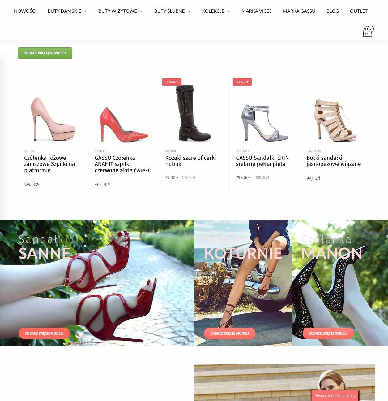 Realizacja WomenShoes 9